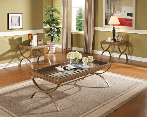 Quintin Coffee Table and End Tables