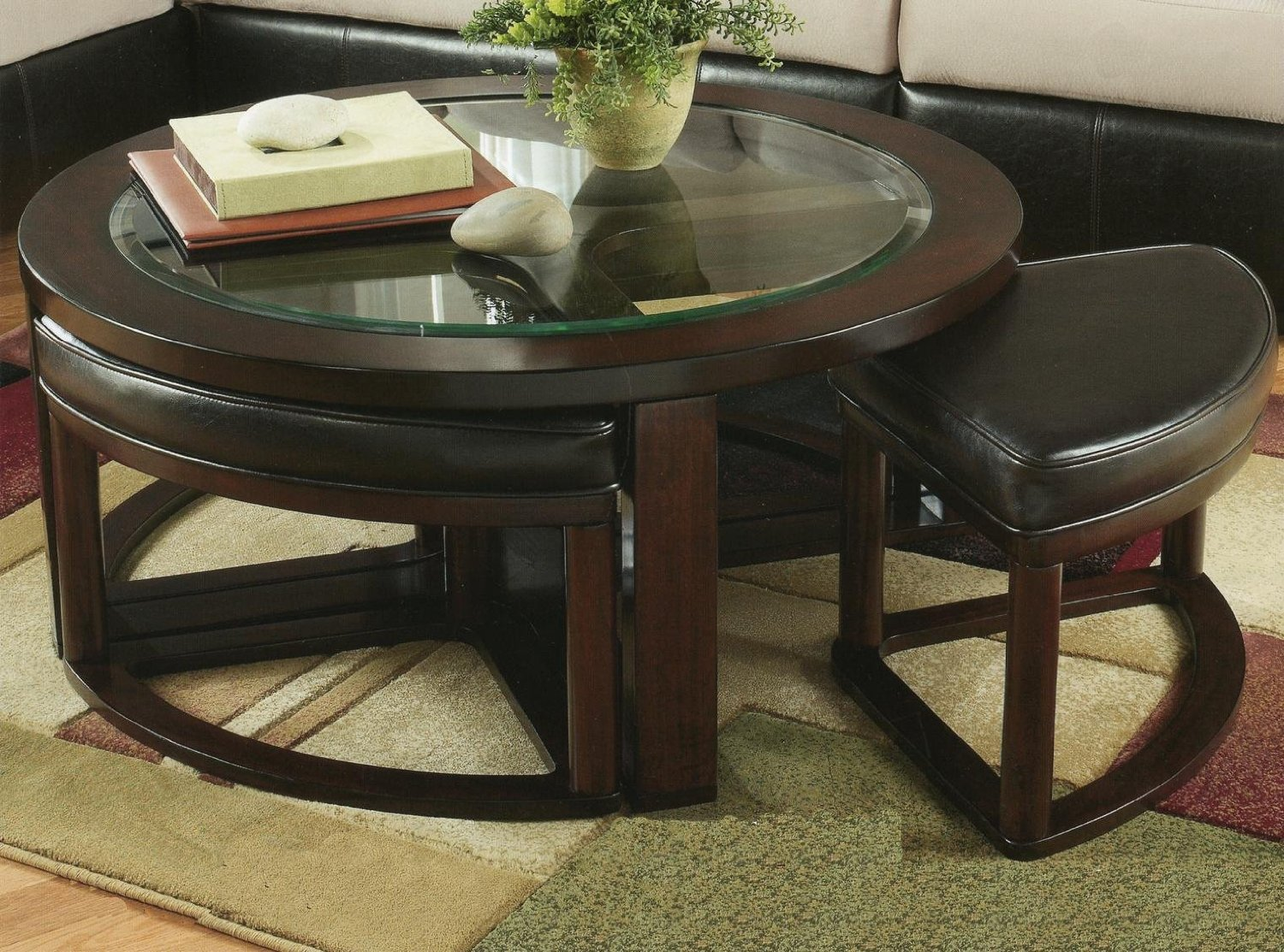 5 Best Coffee Table With Stools – A perfect fit | Tool Box ...