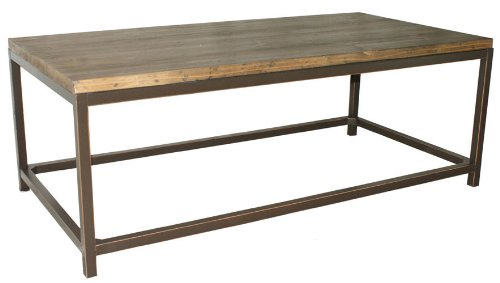 Safavieh Alec Coffee Table, Medium Oak