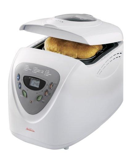 Sunbeam 5891 2-Pound Programmable Breadmaker, White