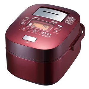 TOSHIBA vacuum pressure IH rice cooker RC-18VXG-R(Japan Import)