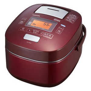 TOSHIBA vucuum pressure IH rice cooker RC-18VSG-W(Japan Import)