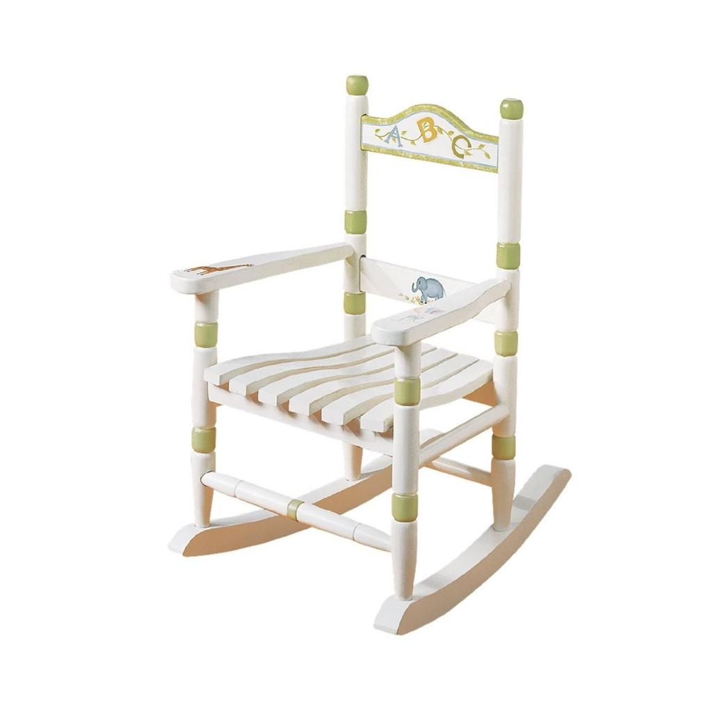 Child s hand painted rocking chair - 5 Best Children Rocking Chairs Your Children S Dream