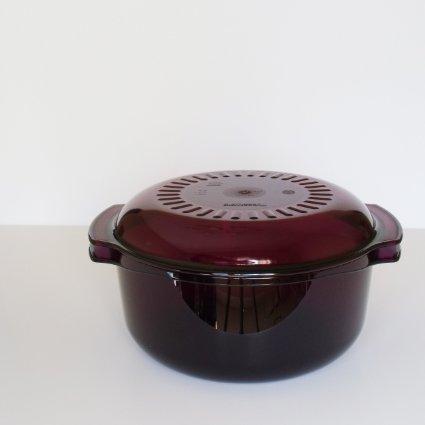 Tupperware Stack Cooker 4 Piece Starter Set Purple