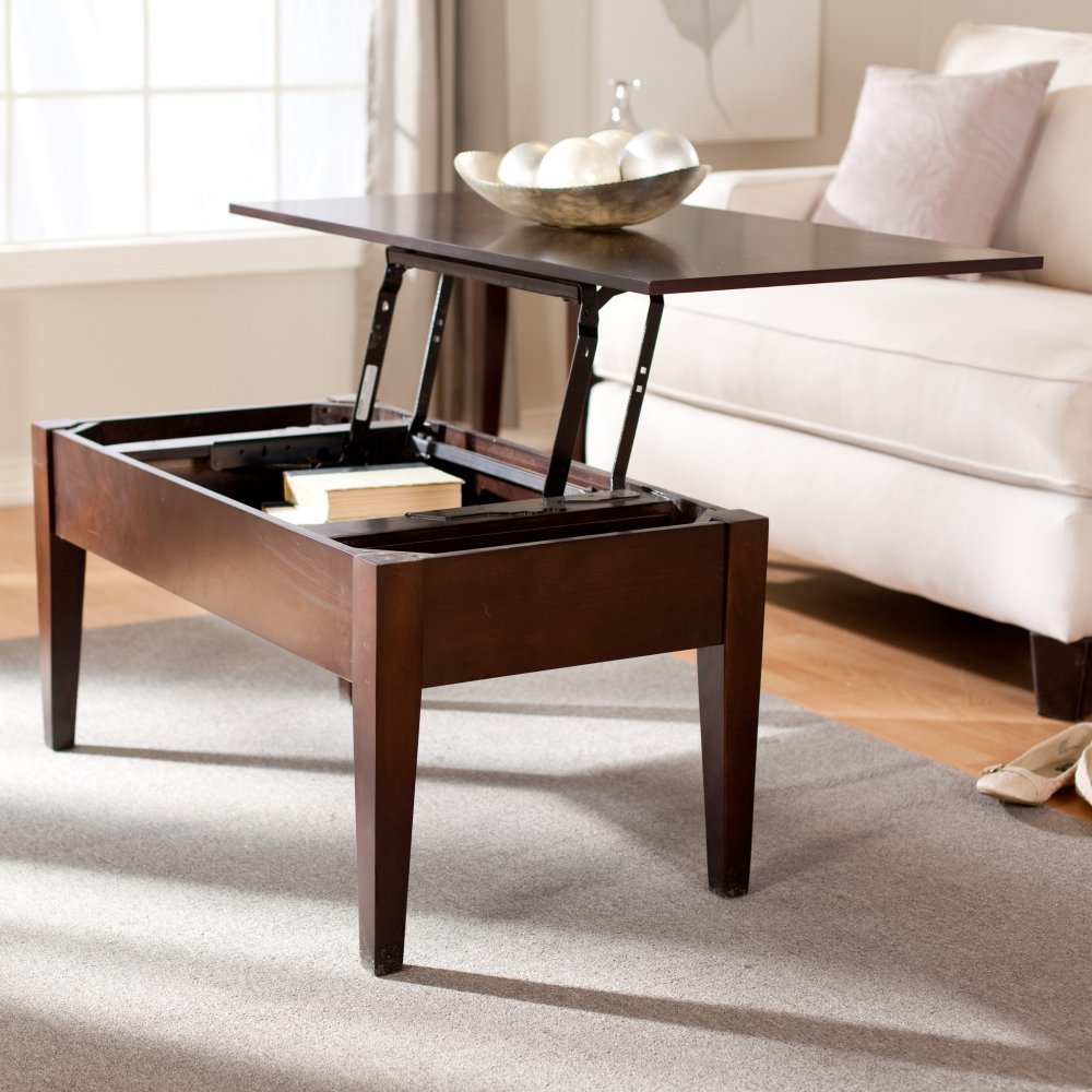 5 best pop up coffee tables pop up surprise tool box turner lift top coffee table espresso geotapseo Image collections