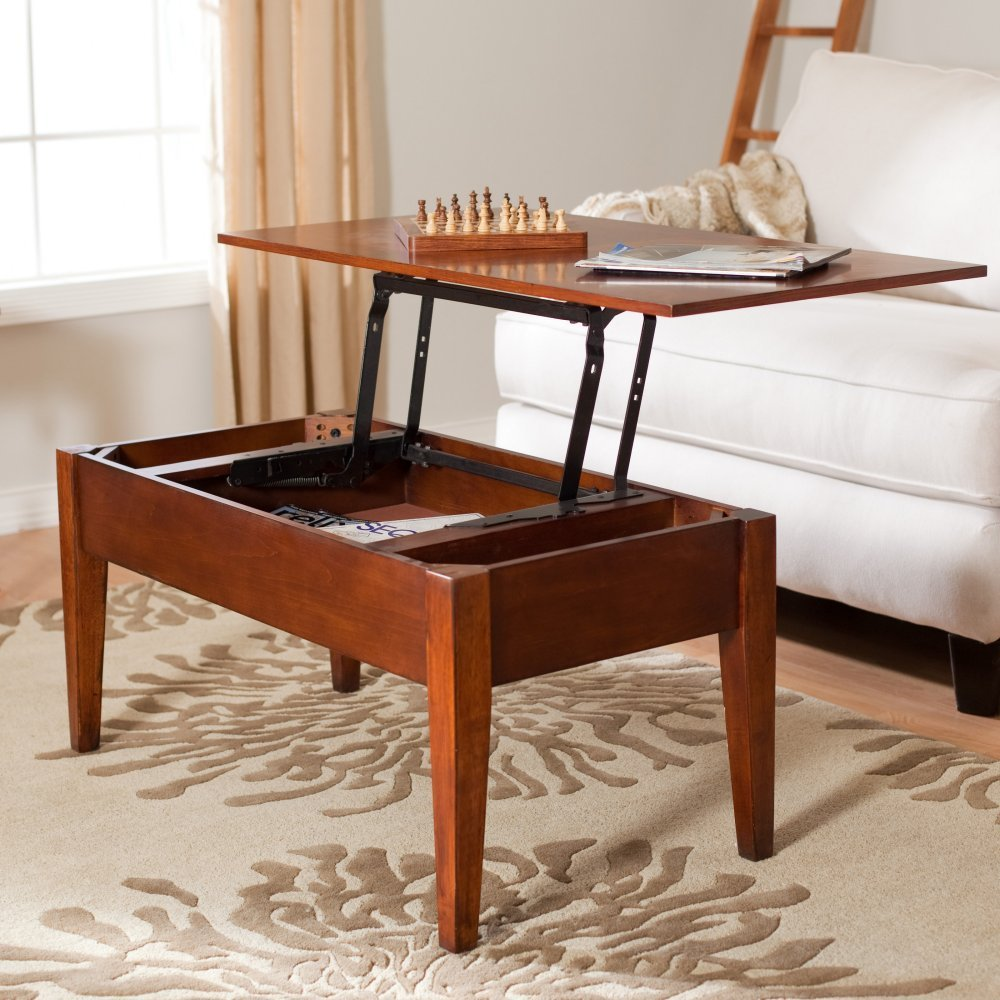 Turner Lift Top Coffee Table – Oak