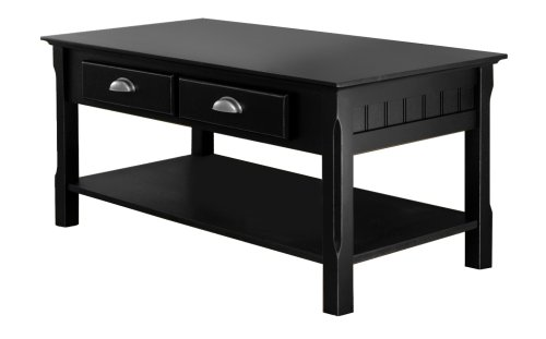 5 best solid wood coffee tables as strong as you tool box Black wooden coffee tables