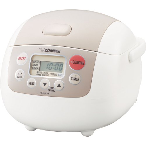 Zojirushi NS-LAC05 Micom 3-Cup Rice Cooker and Warmer