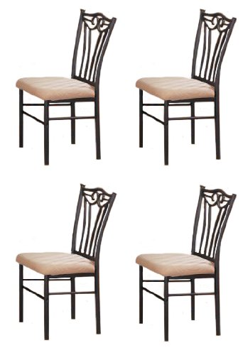 Steel Dining Chairs ~ Best metal dining chairs durable sets tool box