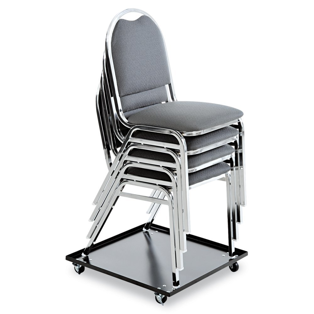 5 Best Stackable Chairs Help save more space Tool Box : Alera Stacking Chair with Dolly Black from www.tlbox.com size 1000 x 1000 jpeg 93kB