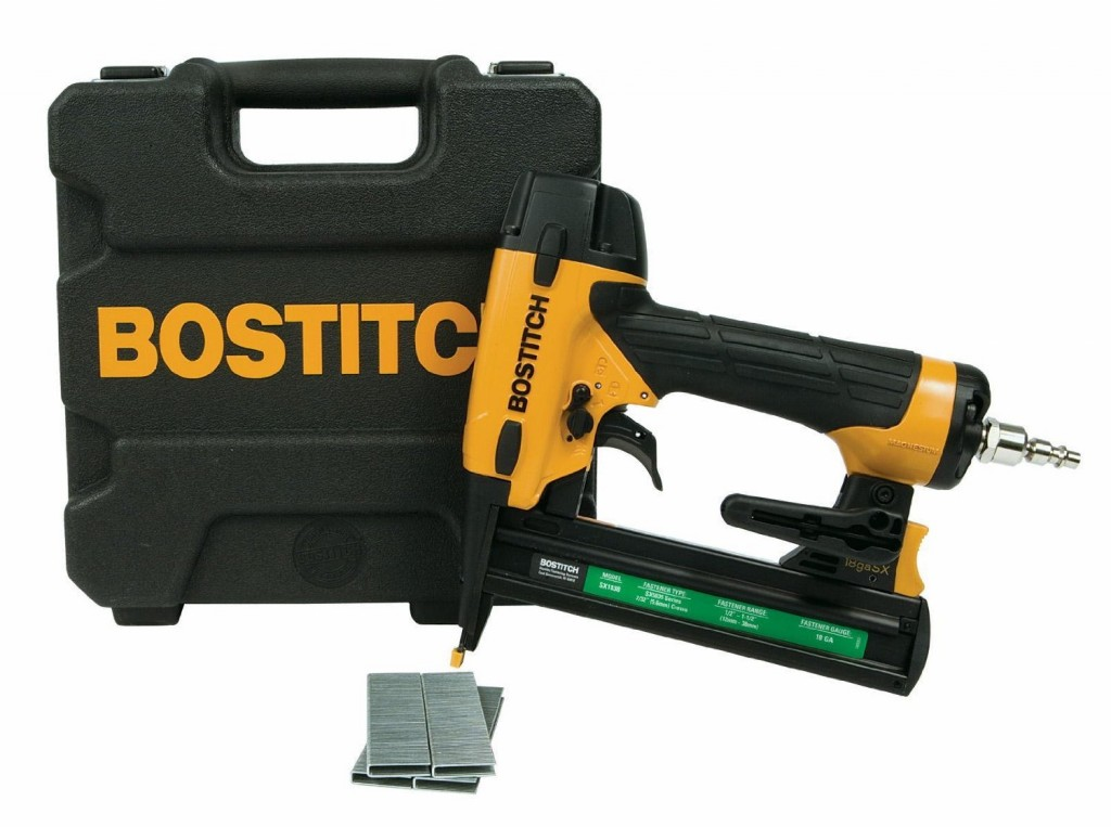 how to use a bostitch floor stapler