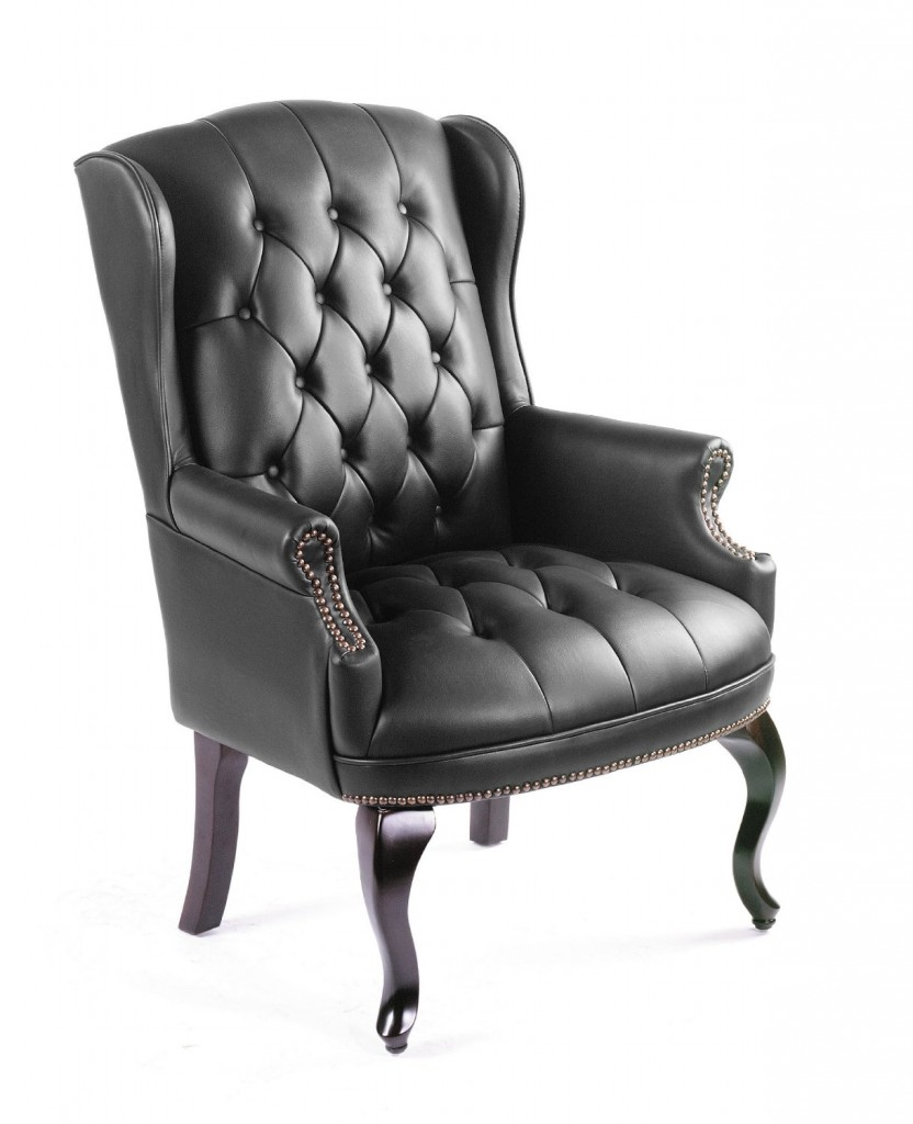 Boss Wingback Traditional Guest Chair