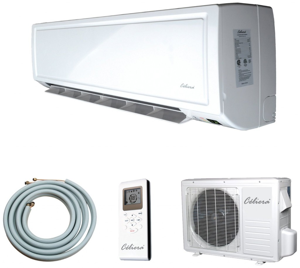 Celiera 9000 BTU Ductless Mini Split Air Conditioner   Heat Pump  #766655
