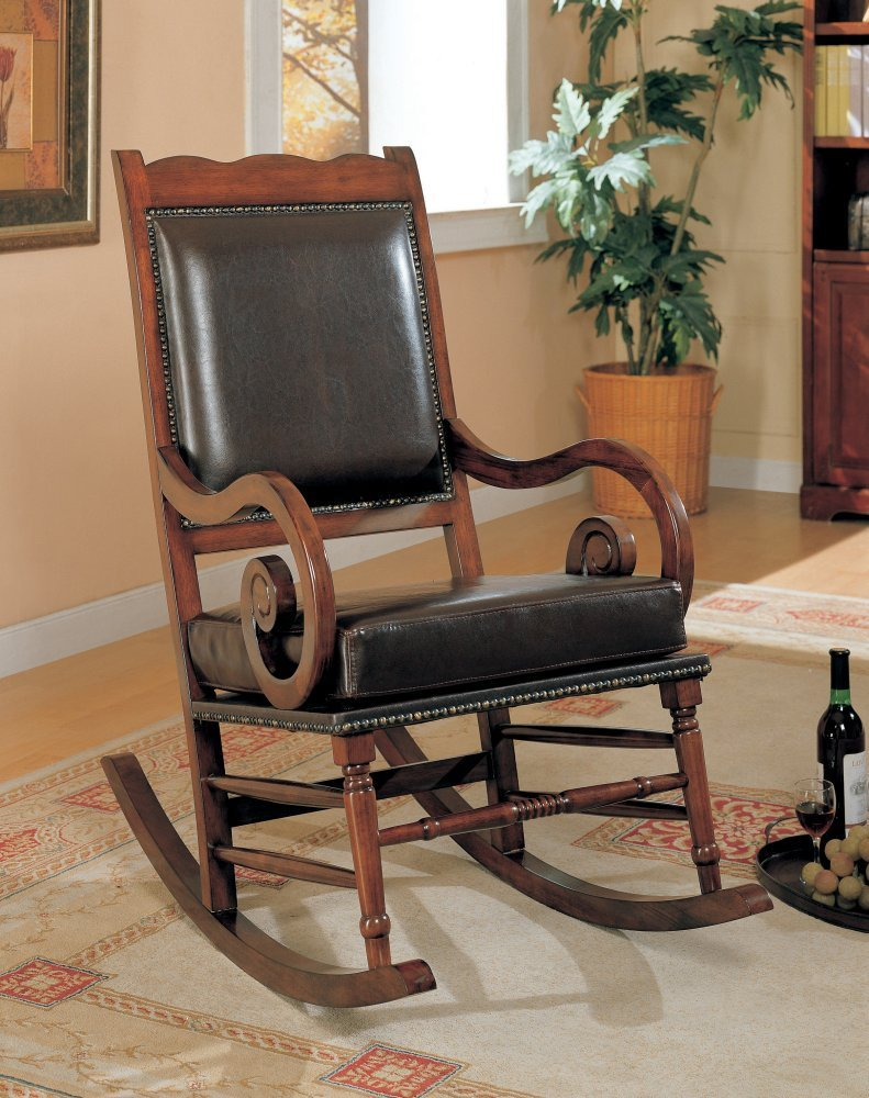 Coaster Traditional Rocking Chair