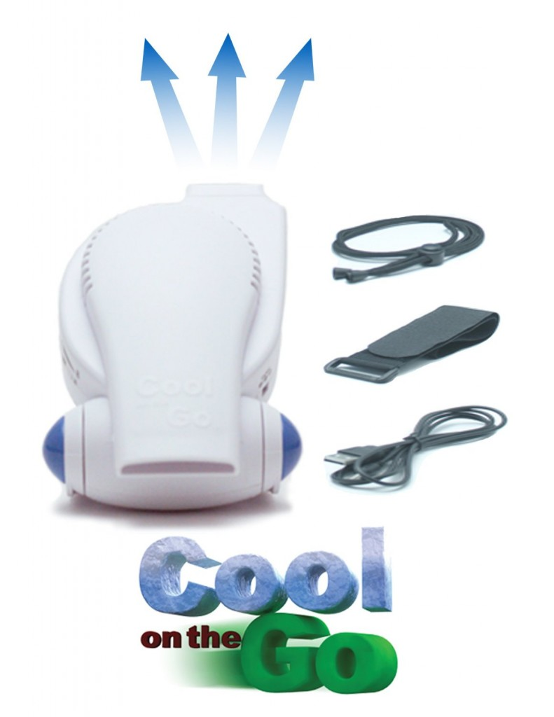 Cool On The Go - Versatile Hands-Free Personal Cooling Device