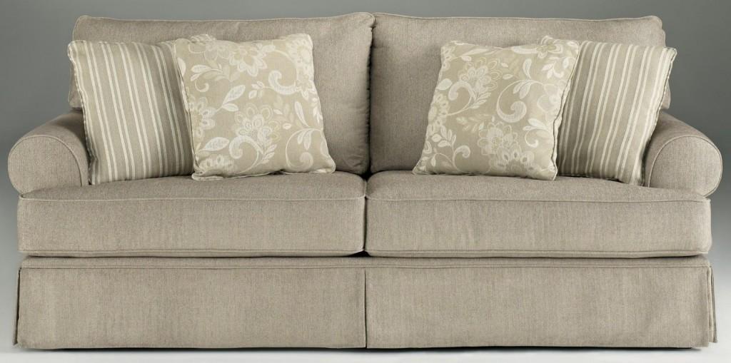 Cottage Linen Candlewick Living Room Sofa