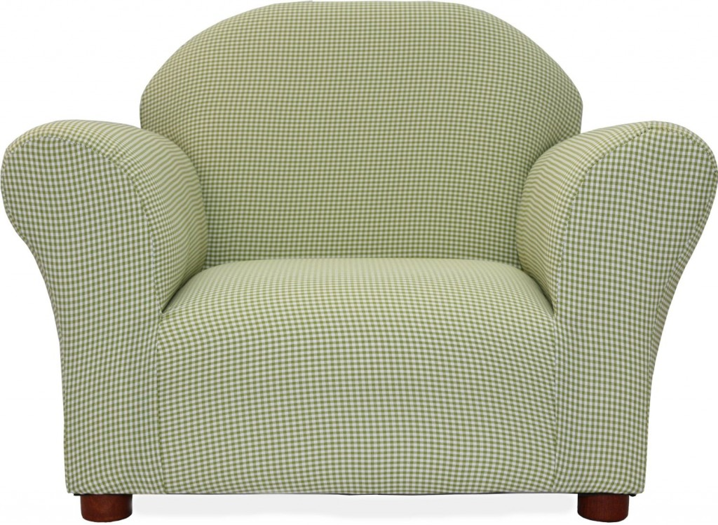 Fantasy Furniture Roundy Chair Gingham