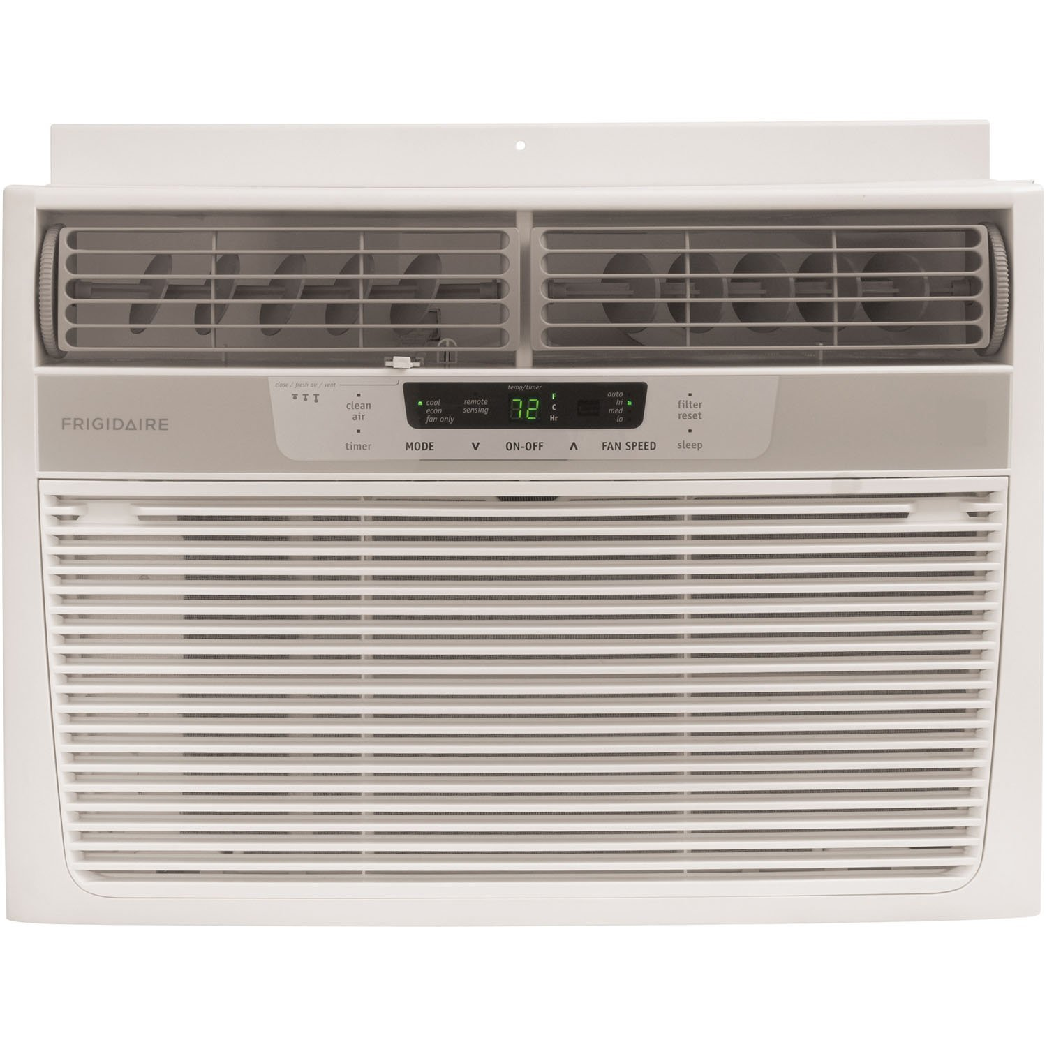 Window Mounted Compact Air Conditioner with Temperature Sensing Remote #426B2F