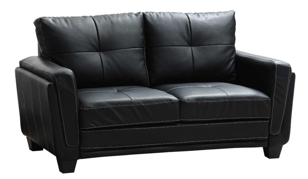 Homelegance 9701BLK-3 Dwyer Sofa