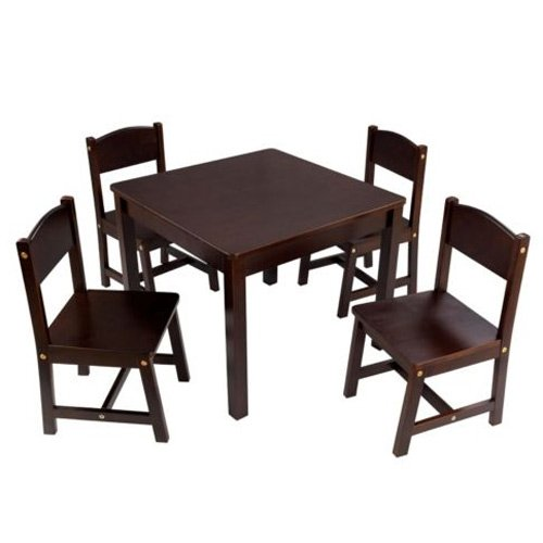 KidKraft Farmhouse Table and 4 Chair Set