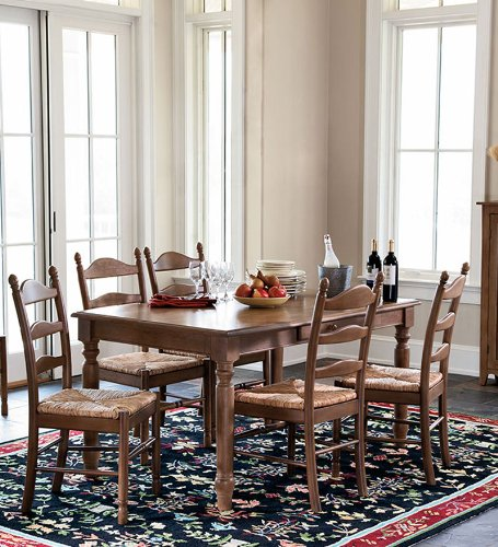 Madison Farmhouse Hardwood Table, in Oak