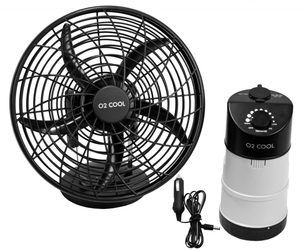 O2 Cool Fan : Best tent air conditioners perfect for camper tool box
