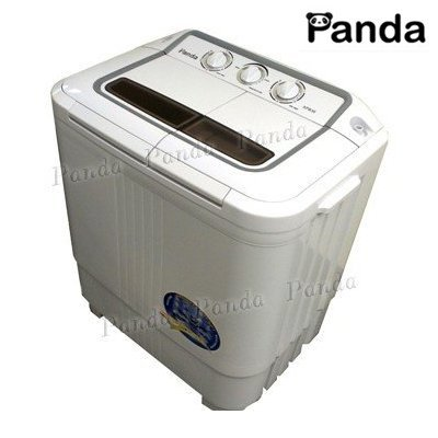 panda small compact portable washing machine 6 7lbs capacity with