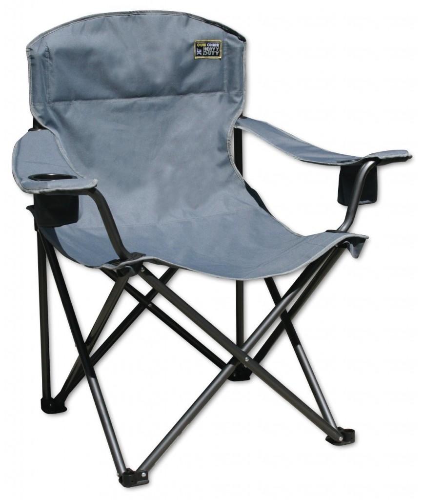 Quik Chair Heavy Duty 1 4 Ton Capacity Folding Chair