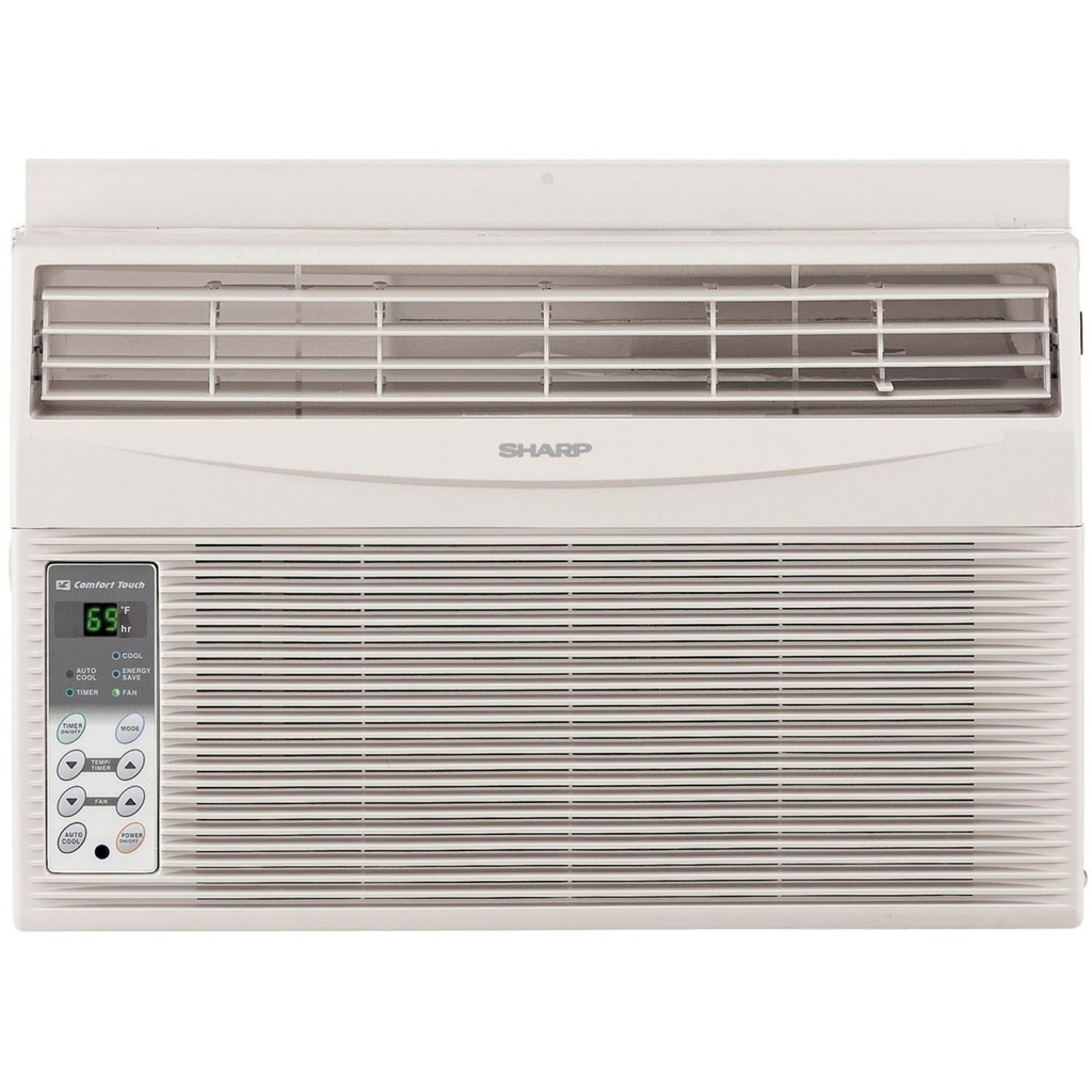 115 Volt Window Mounted Air Conditioner with Rest Easy Remote Control #44703C