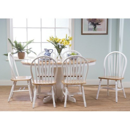 TMS 7 Piece Farmhouse Dining Set