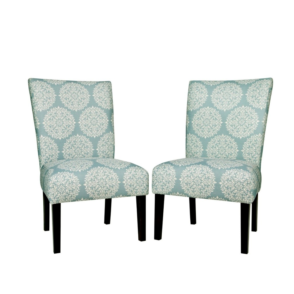 angelo HOME Bradford Chair Set - Filigree Sky Blue
