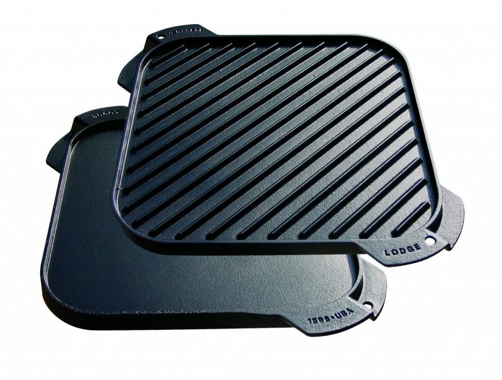Lodge LSRG3 Single-Burner Reversible Grill