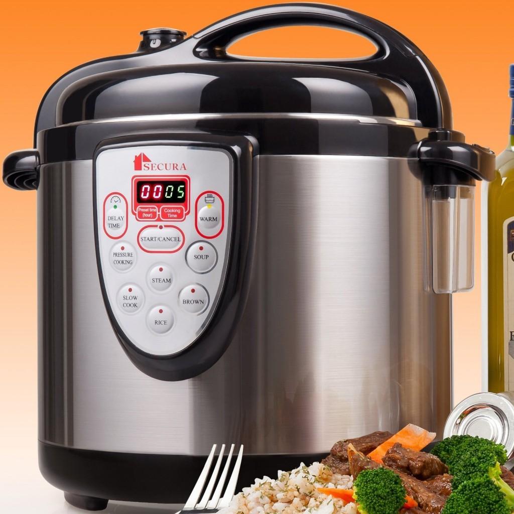 Secura 6-in-1 Electric Pressure Cooker 6qt
