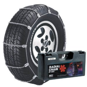 Security Chain Company SZ462 Super Z8 8mm Commercial and Light Truck Tire Traction Chain Set of 2