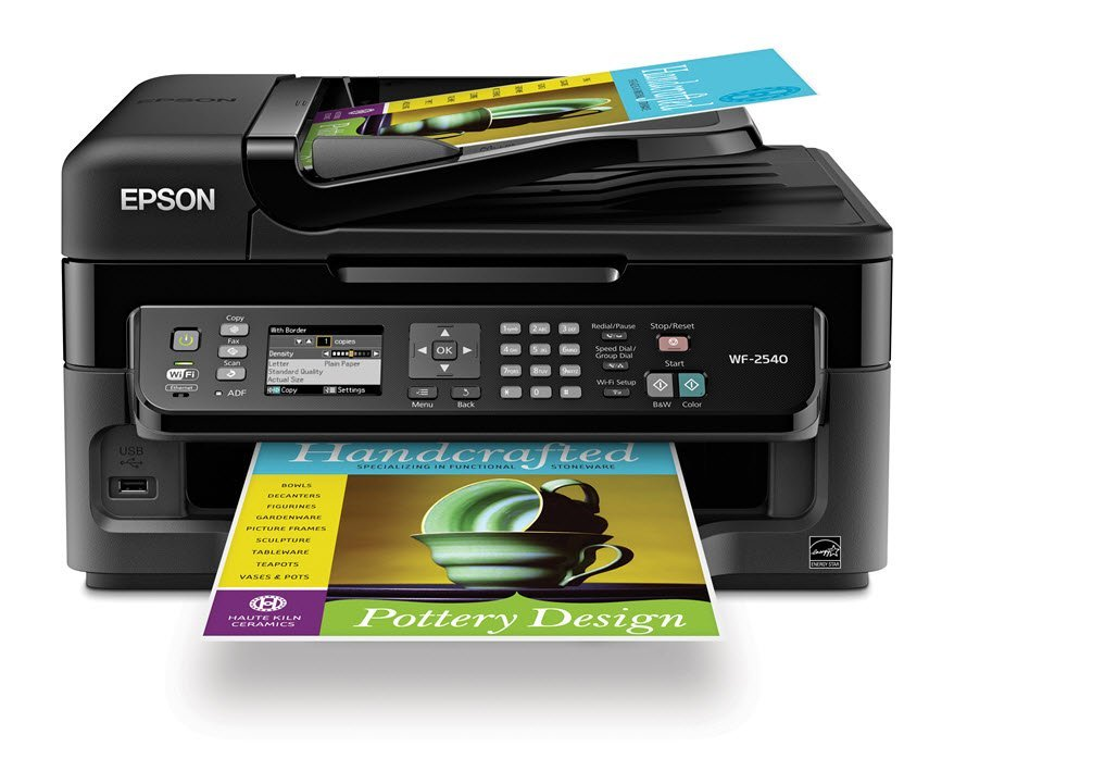 Epson Color Printer And Scanner