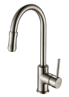 Kraus Kpf Sn Single Lever Pull Out Kitchen Faucet Satin Nickel