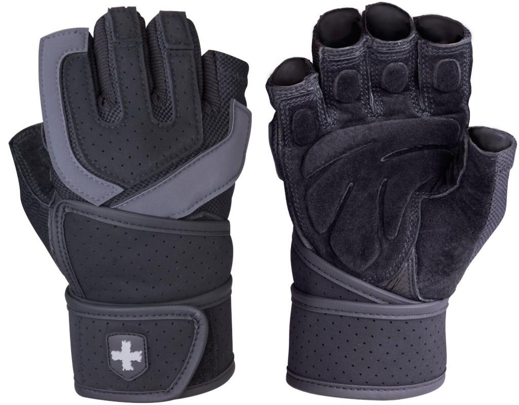 Harbinger 1250 Training Grip WristWrap Glove