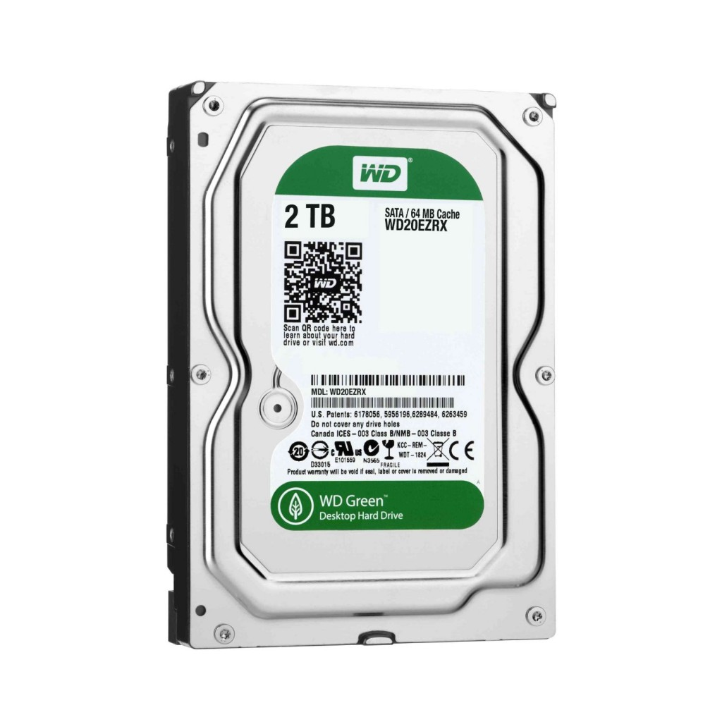 WD Green 2 TB Desktop Hard Drive
