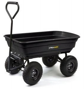 5 Best Garden Cart – Less time and effort for moving and unloading