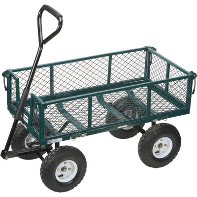 5 Best Garden Cart Less Time And Effort For Moving And