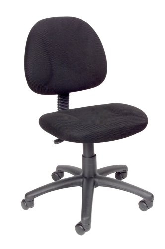 Boss Deluxe Fabric Posture Chair