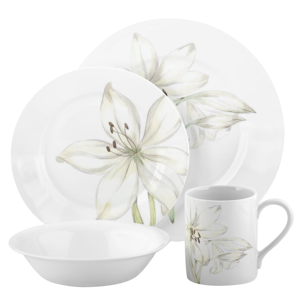 5 Best Corelle Dinnerware Sets Great addition to your  : Corelle Impressions 16 piece Dinnerware Set from www.tlbox.com size 1000 x 1000 jpeg 51kB