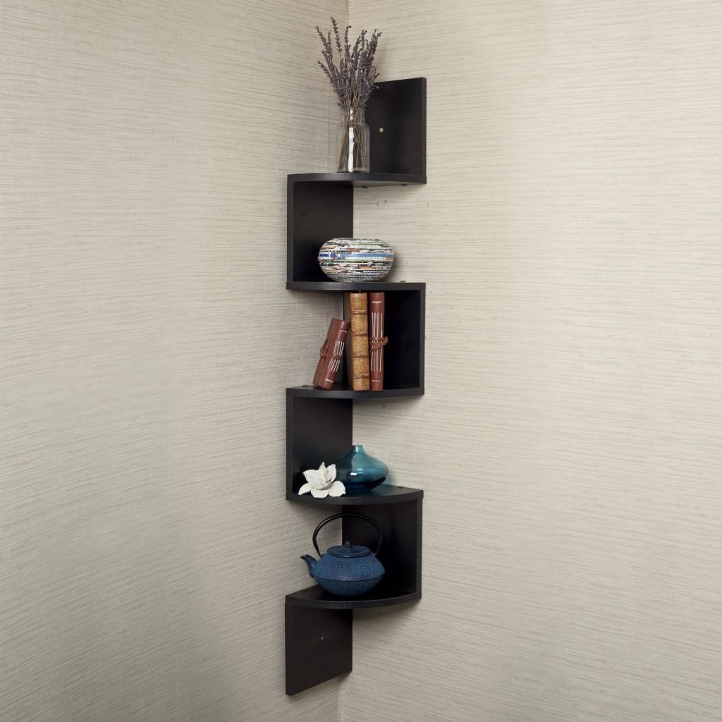 Black Corner Shelf Wall Mount 1024 x 1024