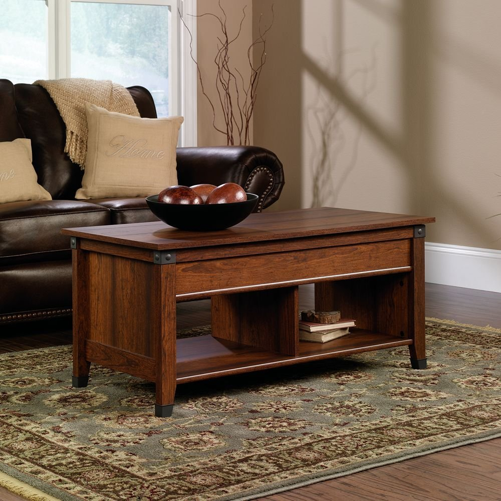 Sauder Carson Forge Lift-Top Coffee Table
