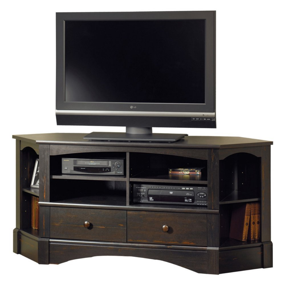 5 best corner tv stand maximizing your home space tool. Black Bedroom Furniture Sets. Home Design Ideas