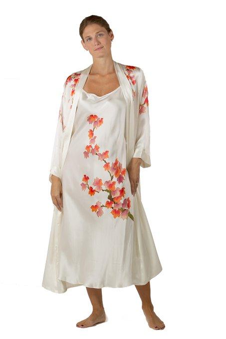 Silk Nightgown Robe Set