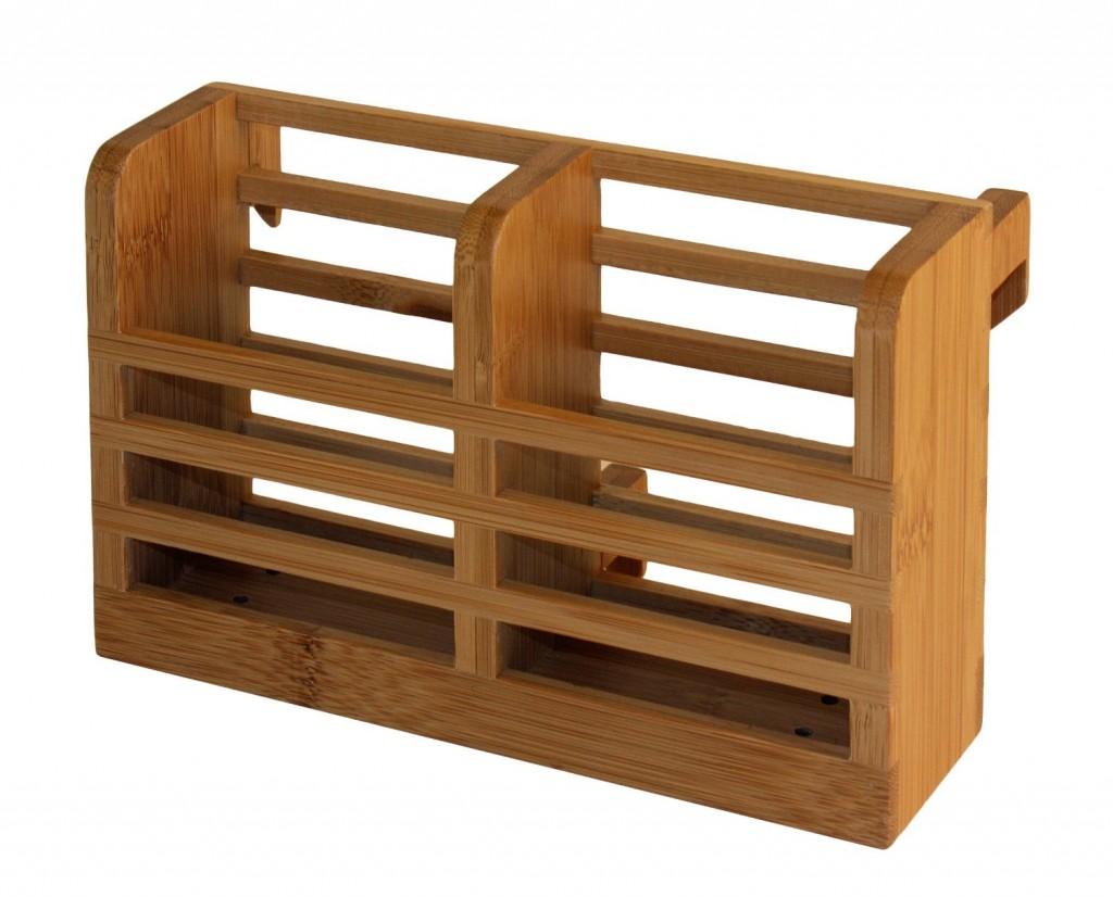 Totally Bamboo Dish Rack Utensil Holder