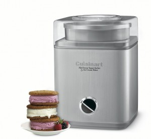 Cuisinart Ice Cream Maker - A fun kitchen tool