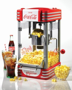 Nostalgia Electrics Popcorn Maker - Enjoy fresh taste of crunchy, delicious popcorn anytime