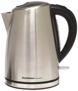 5 Best Chef's Choice Cordless Electric Kettle – Great time and effort savor in your kitchen